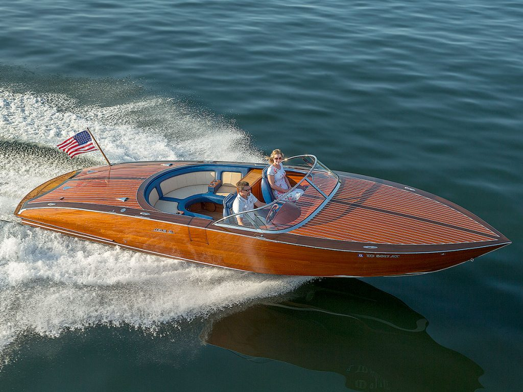 Coeur Customs Boat Model 300 Pearl