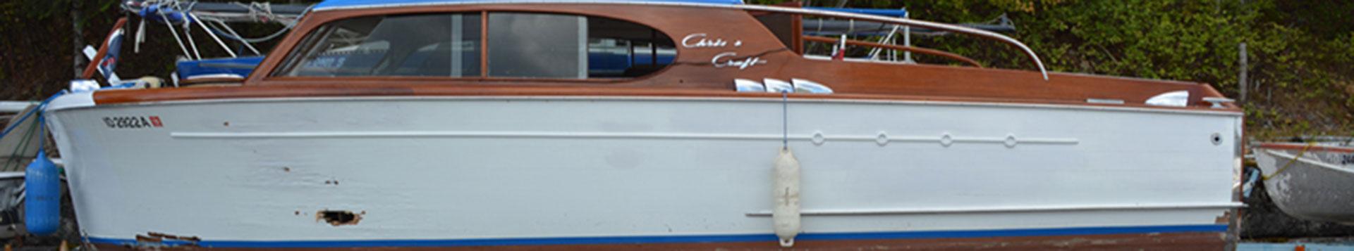 Restoration of a 1946 Chris-Craft Sedan Cruiser