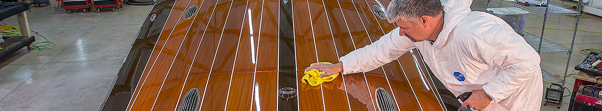 Coeur Custom can take care of your boat's exterior care and maintenance