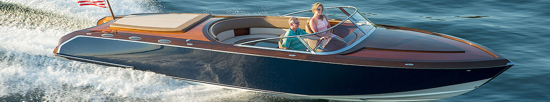 Coeur Custom, Pure 340, Custom Wood Boat